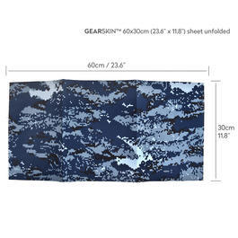 Gearskin Tarnfolie Gr. Regular Digital Navy