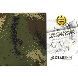 Gearskin Tarnfolie Gr. Regular Digital Woodland V1