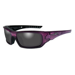 Wiley X Brille Arrow Crystal Plum rauchgrau