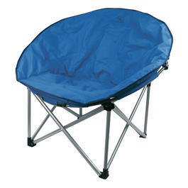 Highlander Relaxsessel Faltbar Moon Chair Blau