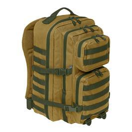 Rucksäcke - Brandit US Cooper Rucksack 40 LiterLarge multicolorcamel/oliv