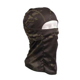 Armee Shop - Mil-Tec Kopfhaube Balaclava Tact. Offen Multitarn Black