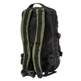 Fox Outdoor Rucksack Assault Travel Laser 20L schwarz/oliv