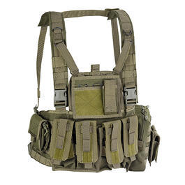 Defcon 5 Chest Rig Brustgeschirr OD Green