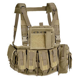 Defcon 5 Chest Rig Brustgeschirr coyote tan