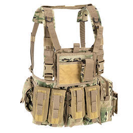 Defcon 5 Chest Rig Brustgeschirr Multi Camo