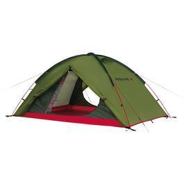 High Peak Zelt Woodpecker 3 für 3 Personen oliv / rot