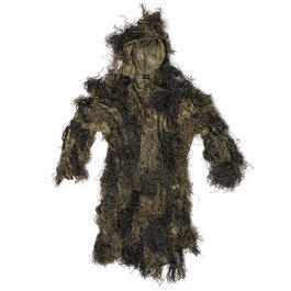 Mil-Tec Tarnparka Ghillie Anti Fire Basic digital camo