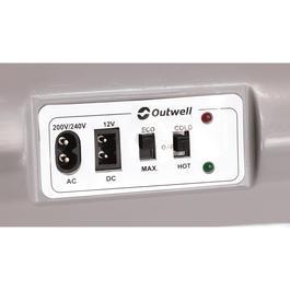 outwell k hlbox ecocool lite 24 liter schwarz 12 volt. Black Bedroom Furniture Sets. Home Design Ideas