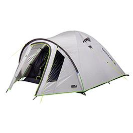 High Peak Zelt Nevada 5.0 grau Kuppelform für 5 Personen