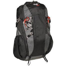 Fox Outdoor Rucksack Arber 30 Liter grau/schwarz