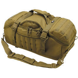 MFH Rucksacktasche Travel 48 Liter coyote tan