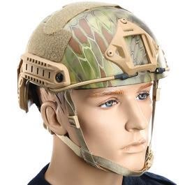 Fast Helm NH 01001 Standard Typ Airsoft mandrake