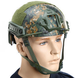 Fast Helm NH 01001 Standard Typ Airsoft digital camo