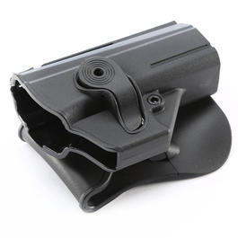 IMI Defense Level 2 Holster Kunststoff Paddle für CZ P-07 schwarz