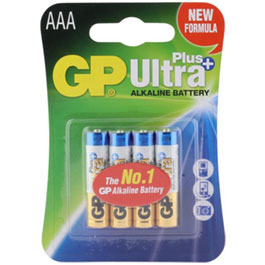 GP Batterie LR03 AAA Micro Ultra Plus 4 Stück