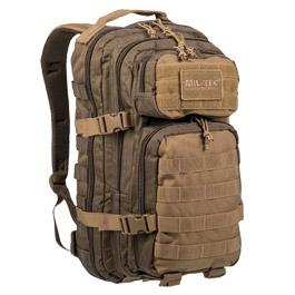 Mil-Tec Rucksack US Assault Ranger Pack 20 Liter green/coyote