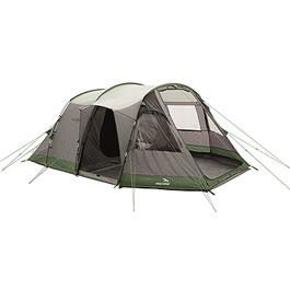 Easy Camp Hauszelt Huntsville 600 oliv/grau für 6 Personen