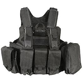 Nuprol RTG Molle Tactical Vest Einsatzweste schwarz