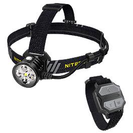 Nitecore Kopflampe HU60 1600 Lumen schwarz
