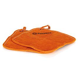 Petromax Topflappen 25 x 25 cm Aramid hitzebeständig bis 250 orange 2er Set
