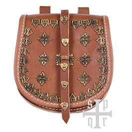 Tarsoly Tasche Wikinger Gürteltasche aus Leder
