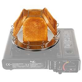 MFH Camping Toaster Edelstahl mit Zange