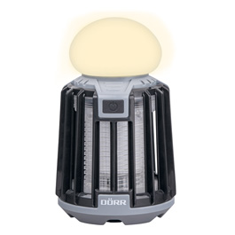 Dörr LED-Campinglampe Anti Moskito MX-9 schwarz