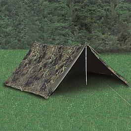 Tarnzelte - BW 2-Mann-Zelt flecktarn gebraucht