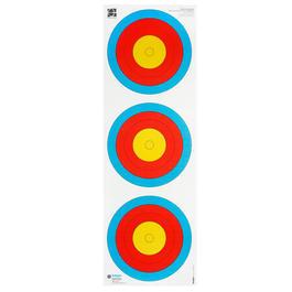 Armbrust online kaufen - Dreifachzielscheibenauflage drei Ziele 6-10,Zehnerring 20mm