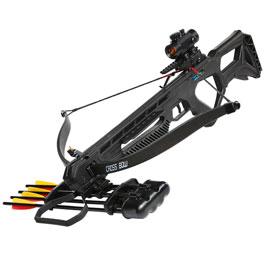 Man Kung Recurve Armbrust Specter XB25 175 lbs Komplettset schwarz