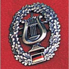 Bundeswehrartikel - Bundeswehr-Barettabzeichen, Musikkorps