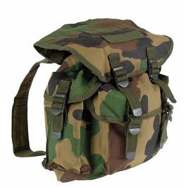 US Youngster City Rucksack, woodland