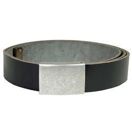 BW Ledergürtel schwarz 110cm