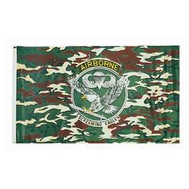 Flaggen - US Airborne Flagge, tarnfarben