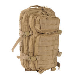 Mil-Tec Rucksack US Assault Pack I 20 Liter coyote