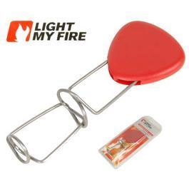 Light my Fire ausziehbare Feuergabel Grillgabel Grandpa�s Fire Fork rot