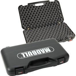 Luft-Pistolen - Pistolenkoffer Deluxe mit Zahlenschloss schwarz 50 x 30 x 8,5cm