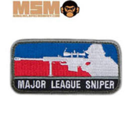 Mil-Spec Monkey Major League Sniper Patch Farbig
