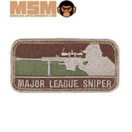 Mil-Spec Monkey Major League Sniper Patch Arid