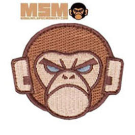 Mil-Spec Monkey Logo Patch Arid