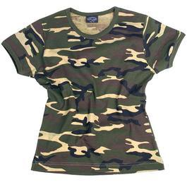 T-Shirt Body Style Mil-Tec, woodland