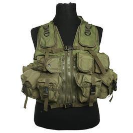Einsatzweste Tactical 9 Taschen Mil-Tec oliv