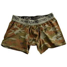Boxershorts, Alpha Industries, woodland