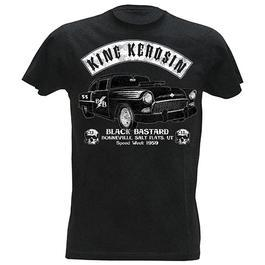 T-Shirt King Kerosin Black Bastard