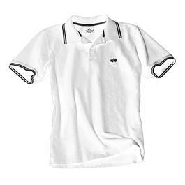 Alpha Industries Polo Shirt Twin Stripes, weiß