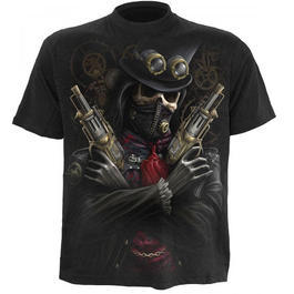 Spiral T-Shirt, Steam Punk Bandit