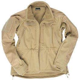 Softshell Jacke MT-Plus coyote