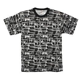 Rothco T-Shirt Faded Guns Pattern Multiprint