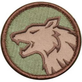 Mil-Spec Monkey Wolf Head Patch Multicam